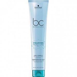 Schwarzkopf Professional BC Bonacure Hyaluronic Moisture Kick Curl Power 5 bezoplachová péče pro vlnité a kudrnaté vlasy Cream 125 ml