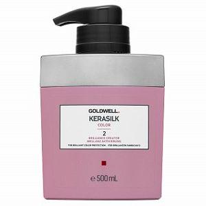 Goldwell Kerasilk Color Brillance Creator bezoplachová péče pro barvené vlasy 500 ml