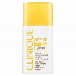 Clinique Sun Mineral Sunscreen Facial Fluid SPF30 mléko na opalování na obličej 50 ml