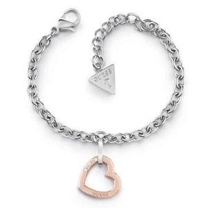 Guess Hearted Chain UBB29078-S