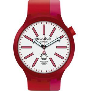 Swatch BB Kurenai Red SO27Z101